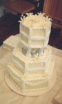 Wedding cake 40th only